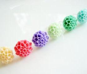 Choose Your Dahlia Stud Earrings